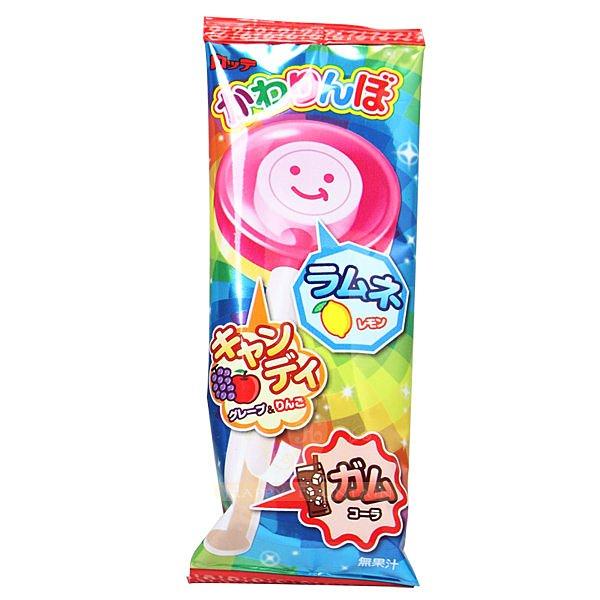 日本 LOTTE 羅德 不可思議歡樂棒棒糖口香糖(棒棒糖+口香糖) 20g