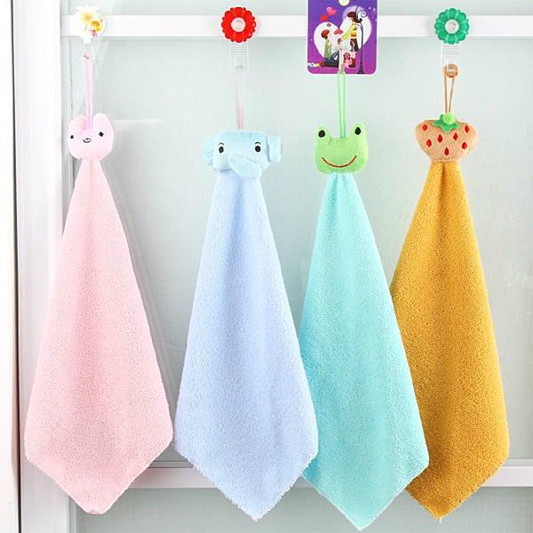 生活小物 可愛卡通掛式清潔巾超強吸水超細纖維廚房擦手巾