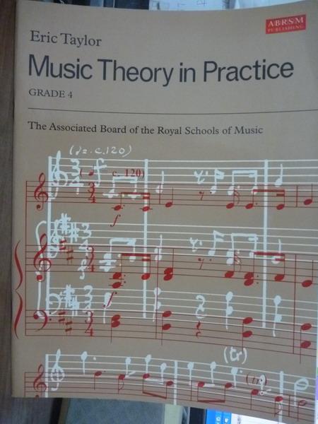 【書寶二手書T1/音樂_QGA】Music Theory in Practice:Grade 4_Eric Taylor