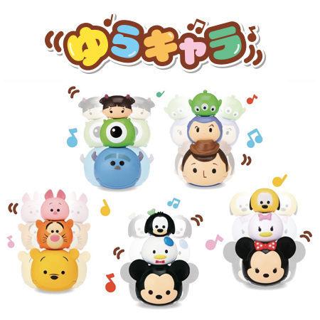 日本直送 TSUM TSUM 搖擺疊疊音樂公仔 互動玩具 疊疊樂 米奇 米妮 維尼 怪獸大學 玩具總動員