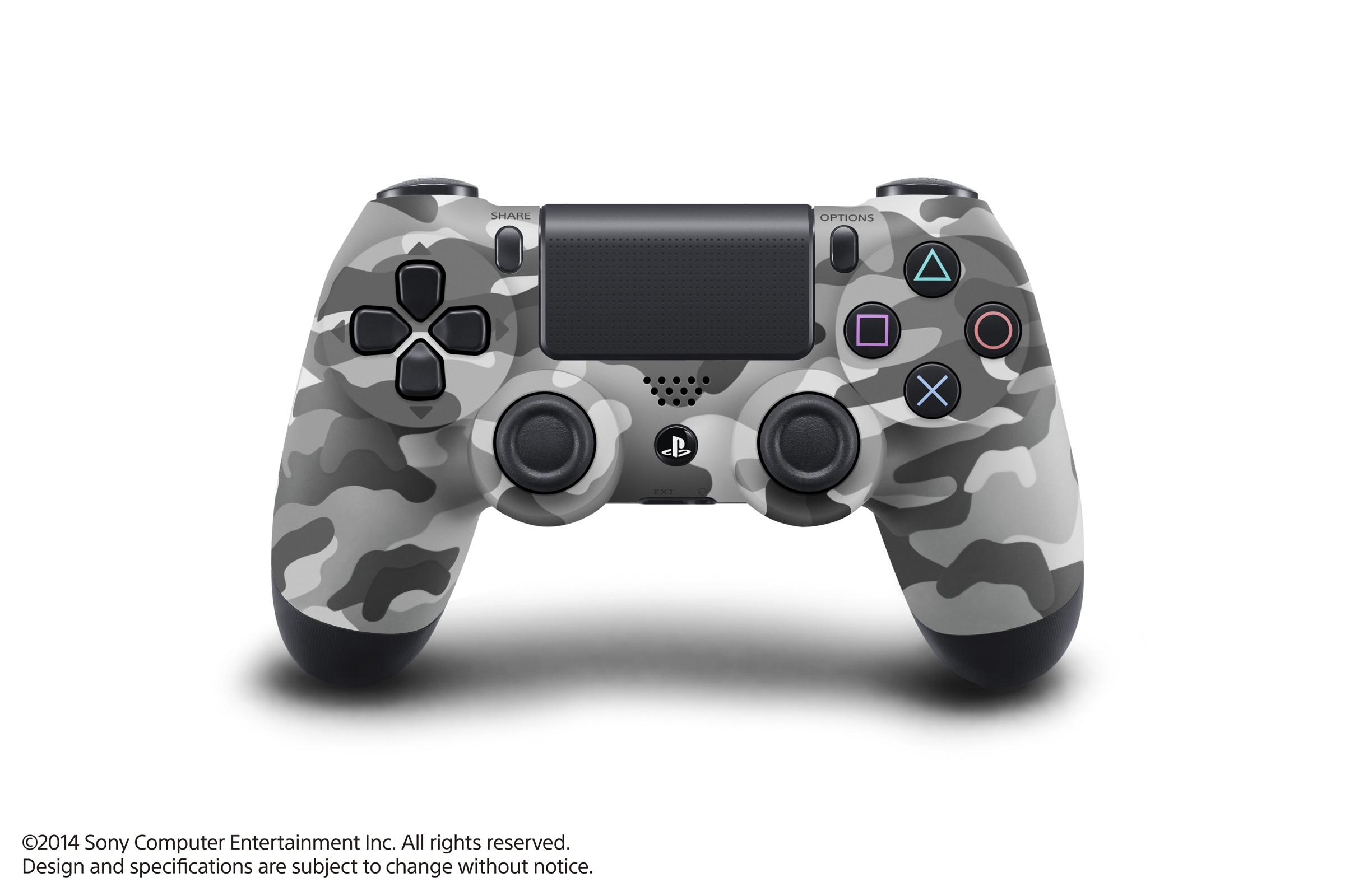現貨供應中 一年保固  [PS4 周邊] PS4 控制器 迷彩灰