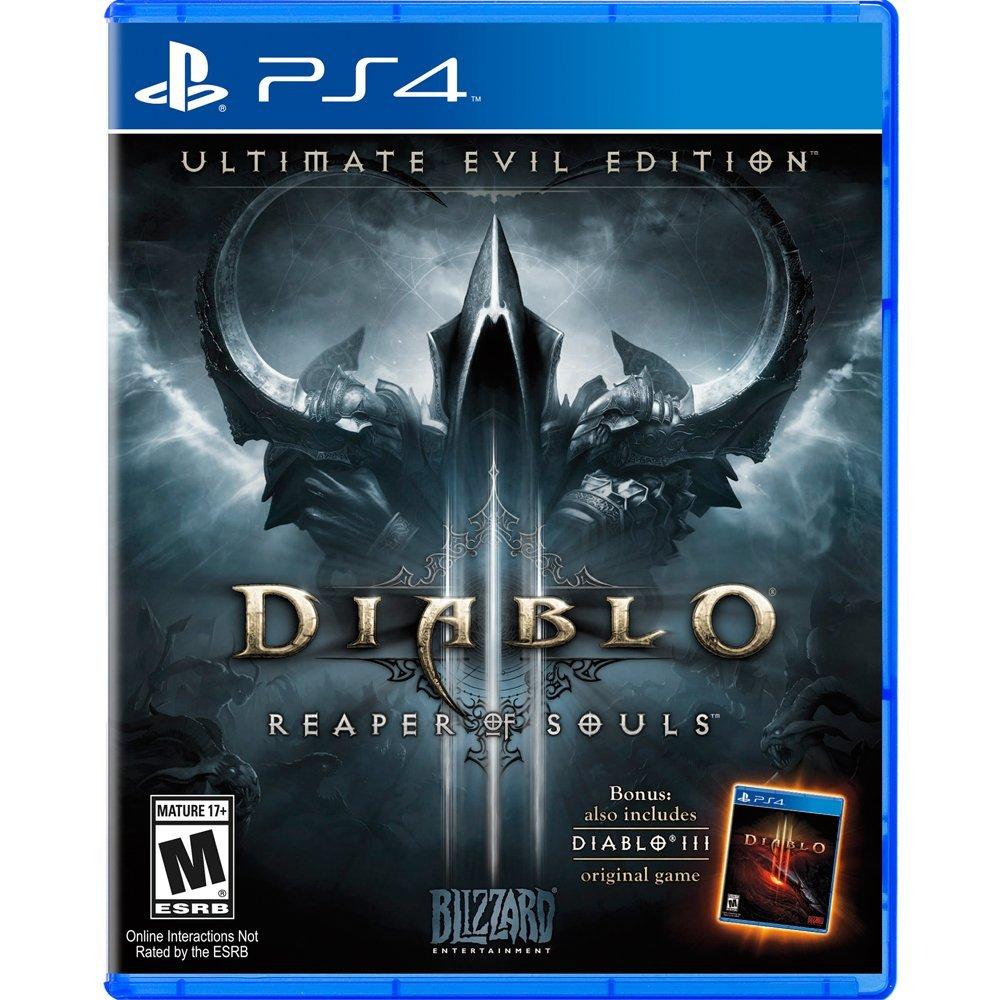 預約中 8月21日發售 日版 [限制級] PS4  暗黑破壞神 III:終極邪惡版