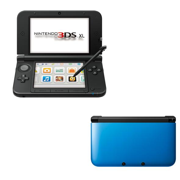 現貨供應中 [3DS 主機] Nintendo 3DS XL 藍 × 黑 (台灣專用機)
