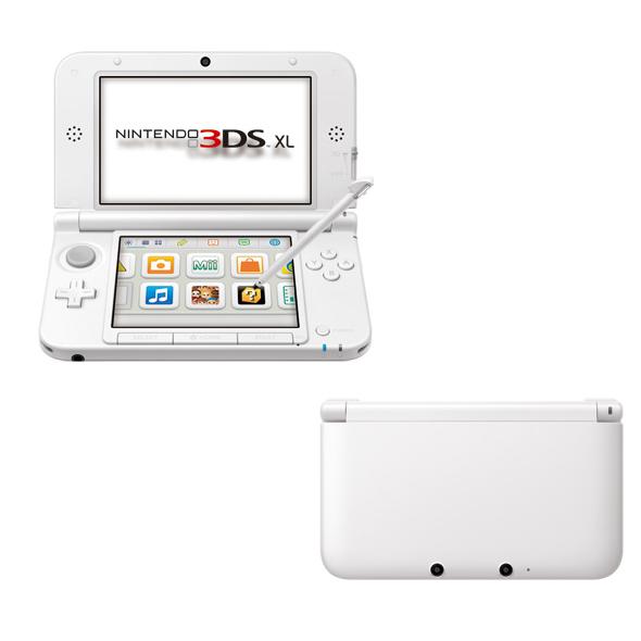 現貨供應中 [3DS 主機] Nintendo 3DS XL 白 (台灣專用機)