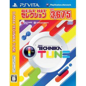 現貨供應中 [輔導級] PSV DJMAX TECHNIKA TUNE BEST版 [PS VITA 軟體] 日版
