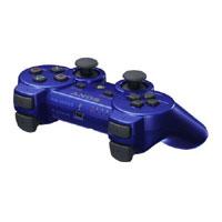 PS3 原廠震動手把(藍) 亞版