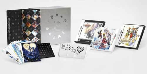 現貨供應中 [普通級] 3DS 王國之心 10 周年紀念 BOX 日版