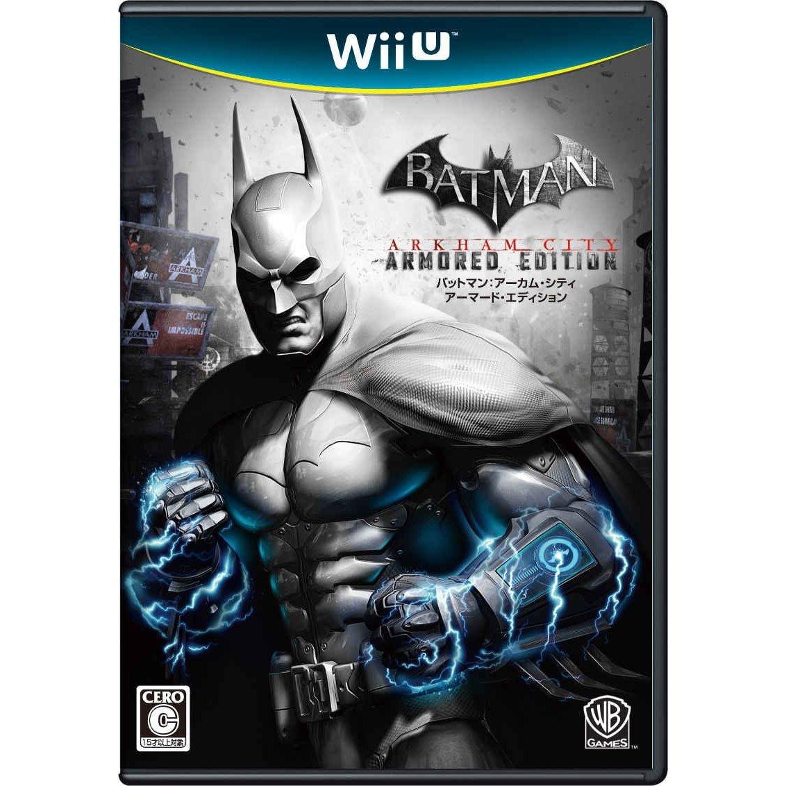 現貨供應中 [輔導級] WII U 蝙蝠俠:阿卡漢城市 [WII U專用軟體] 日版