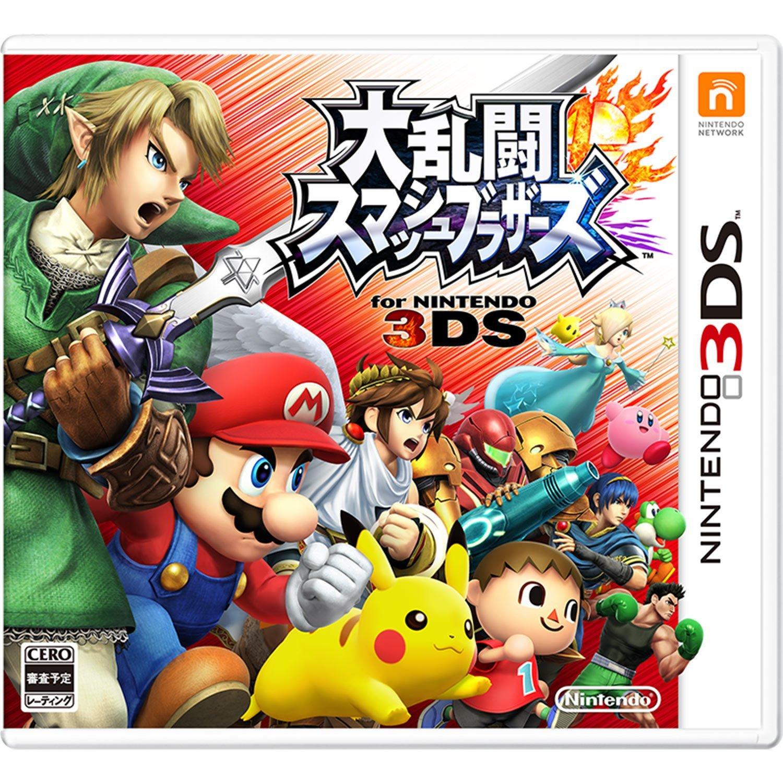 現貨供應中 日版 日規機專用軟體 [普遍級] 3DS 任天堂明星大亂鬥 N3DS