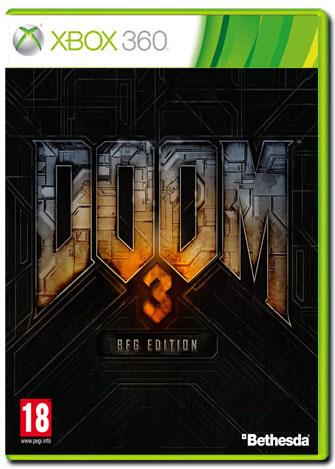 現貨供應中 亞洲英文版 [限制級]  XBOX360 Doom 3 BFG Edition / 毀滅戰士:BFG版