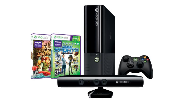 現貨供應中 [超值組合包] Xbox 360 4G+KINECT 主機 假日同捆包 贈木偶神槍手 刷卡免運費