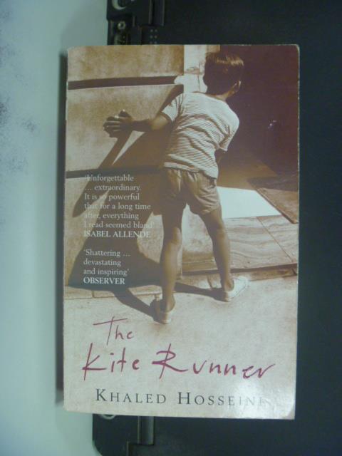 【書寶二手書T4/原文小說_GFU】Kite Runner 追風箏的孩子_Hosseini, Khaled