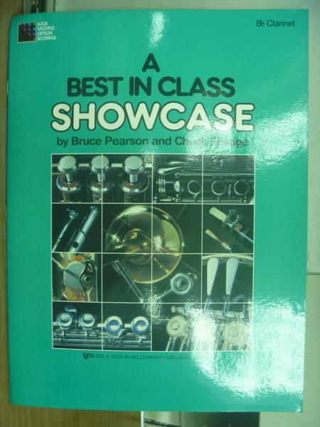 【書寶二手書T1/原文書_PLY】A BEST IN CLASS SHOWCASE_1989
