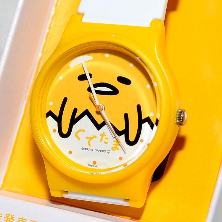 蛋黃哥 CITIZEN 星辰錶 氣壓防水指針式手錶 日本限定 附禮盒