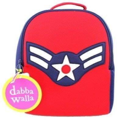 【WuWaa】美國環保品牌 dabbawalla bags 瓦拉包- 美國隊長後背包 (預購)