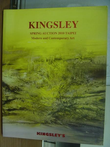 【書寶二手書T8/收藏_PGO】Kingsley_Modern andd contemporary..._2010/6