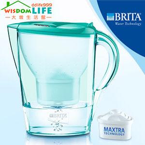 [免運 ]德國BRITA Marella XL 馬利拉 3.5L 濾水壺,1壺含4芯,薄荷綠只賣1500元!