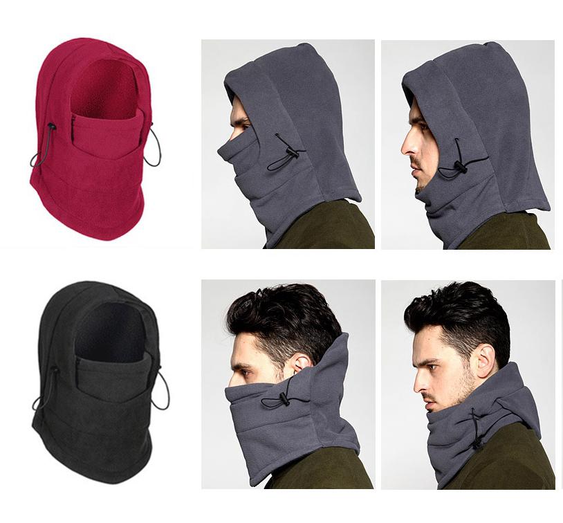 防風保暖面罩頭套帽 加厚擋風雙層搖粒絨騎車頭套 雙層 連帽 防風 防寒 保暖 保暖面罩 保暖頭套 防風面罩 圍脖 圍巾