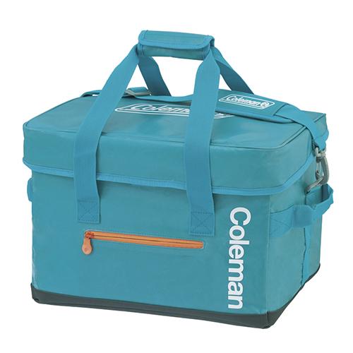 【露營趣】中和 Coleman CM-6600 20L ELITE水藍保冷袋 冰桶 行動冰箱 保溫袋 野餐籃 保冰袋