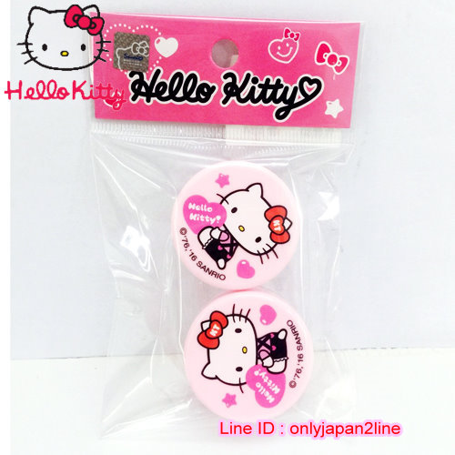 【真愛日本】161019000242入收納盒10g-KT抱抱桃心   三麗鷗 Hello Kitty 凱蒂貓   收納盒/擠壓瓶  旅用組