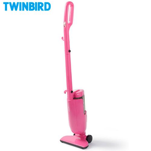 TWINBIRD 雙鳥 ASC-80TWP 粉紅 強力手持直立兩用吸塵器