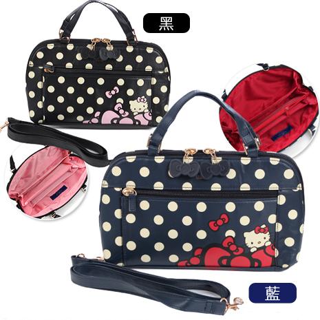 HELLO KITTY × Hallmark聯名兩用側背包-花園凱蒂