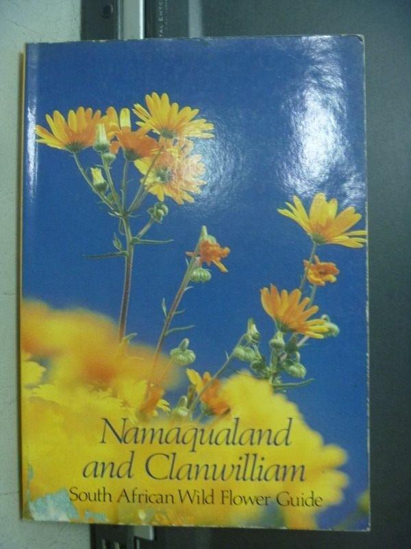 【書寶二手書T3/園藝_OPF】Namaqualand and Clanwilliam South African