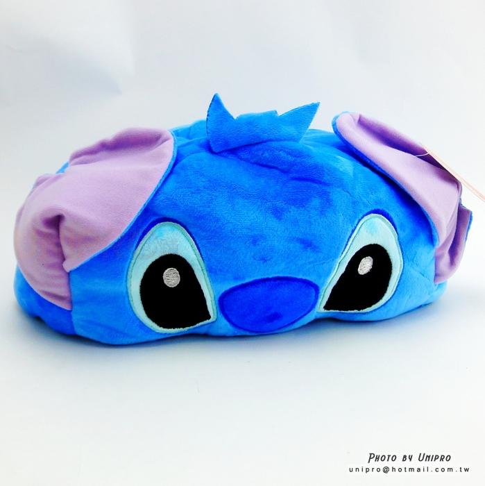 【UNIPRO】迪士尼 史迪奇 卡通 立體 鋪棉 造型 面紙盒 Stitch 面紙套