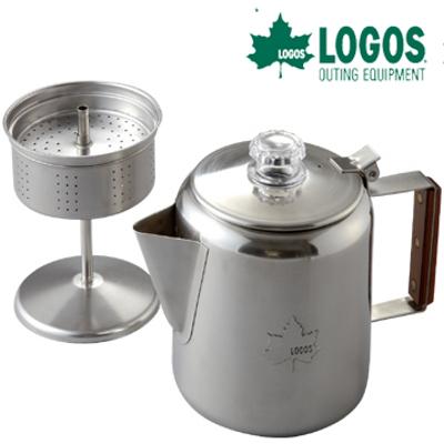 LOGOS/日本/露營/不鏽鋼咖啡壺 六杯份 81210300 /台北山水