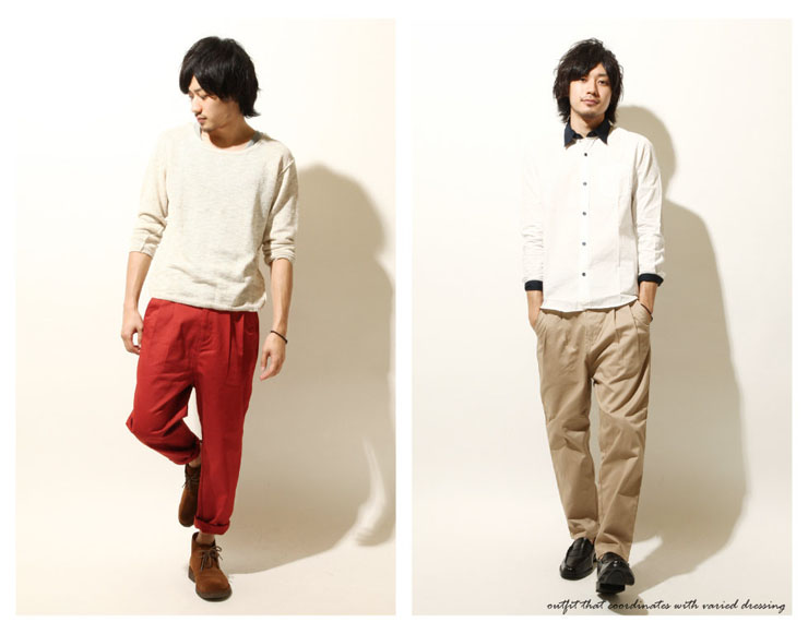 飛鼠Chino褲