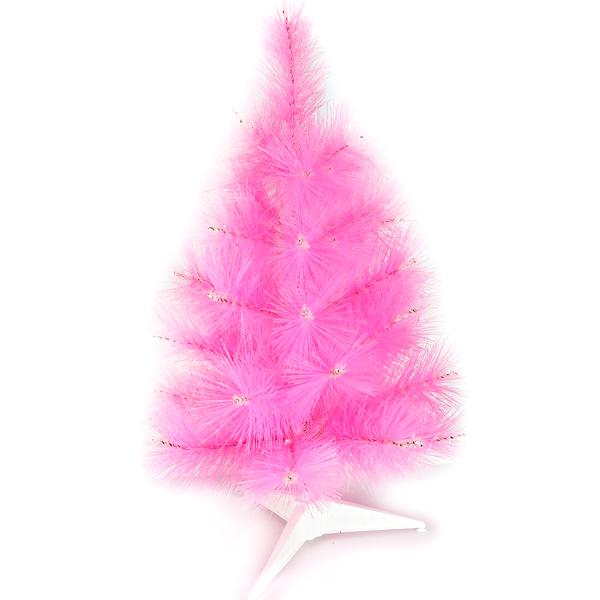 台灣製2尺/2呎(60cm)特級粉紅色松針葉聖誕樹裸樹 (不含飾品)(不含燈) (本島免運費)YS-NPT02003
