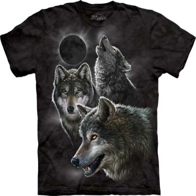 『摩達客』(大尺碼3XL)美國進口【The Mountain】自然純棉系列 白虎設計 T恤