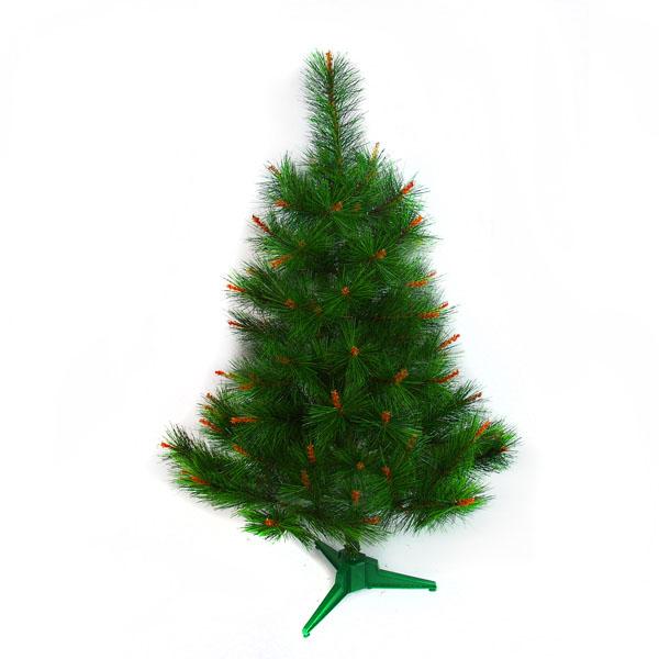 台灣製2尺/2呎(60cm)特級綠色松針葉聖誕樹裸樹 (不含飾品)(不含燈)YS-NGPT02001