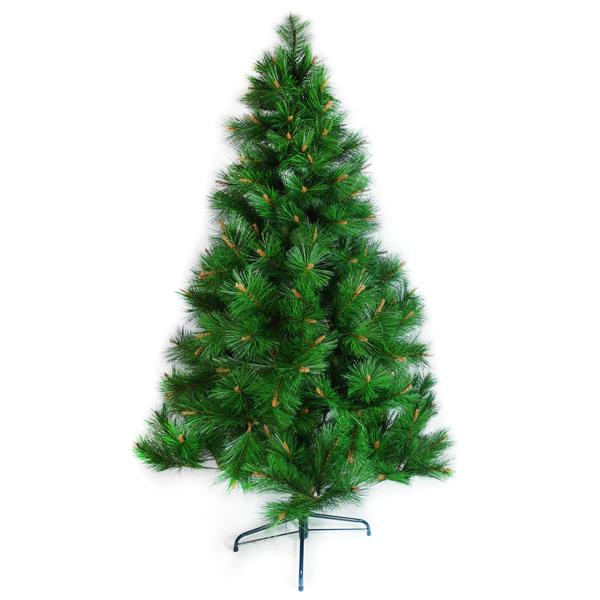 台灣製7呎/ 7尺(210cm)特級綠松針葉聖誕樹裸樹 (不含飾品)(不含燈)YS-NPT07001
