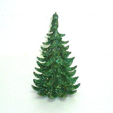 『冬季生活限定』可愛迷你桌上型綠色亮粉聖誕樹