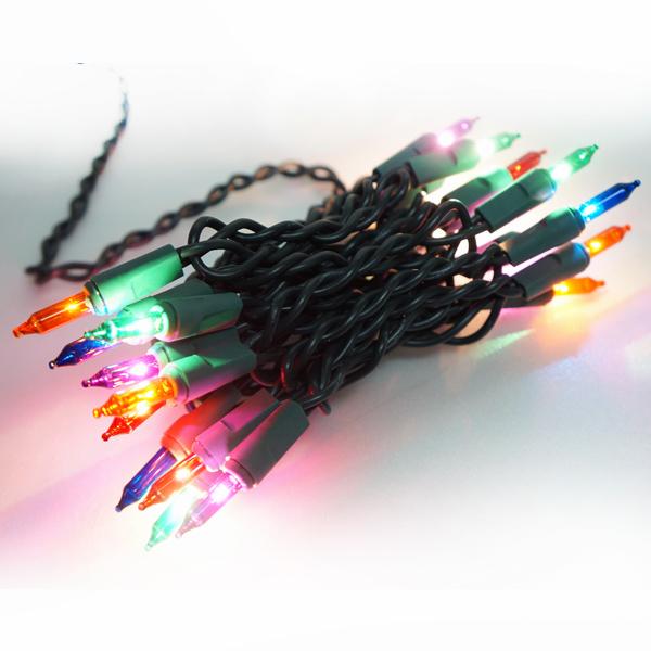 聖誕燈串-20燈彩色樹燈(鎢絲燈-浪漫四彩色)(可搭聖誕樹)YS-XTL020001