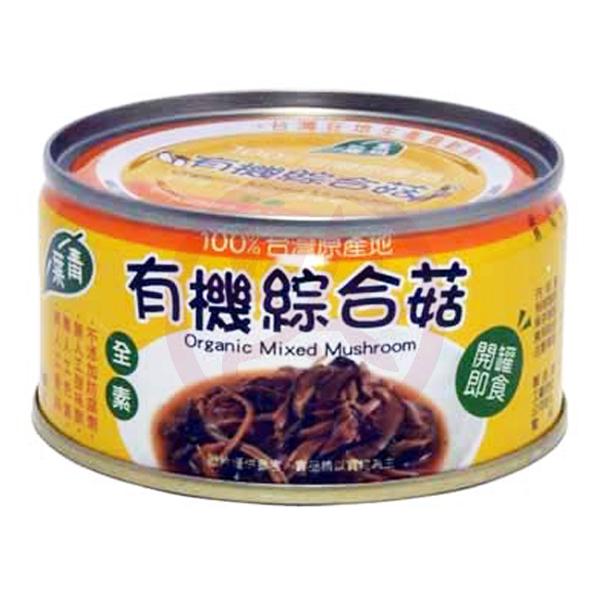 美好人生 有機綜合菇120g/罐