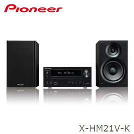 Pioneer 先鋒 X-HM21V-K 床頭組合音響 IPhone/DVD/CD 公司貨  分期0利率 免運
