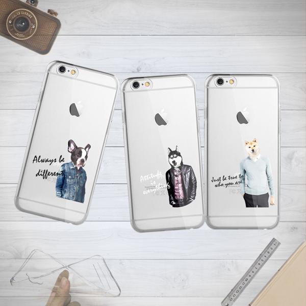 iPhone 6/6s 4.7 i6+ Plus 5.5 i5 5S 4 4S 原創 法鬥 哈士奇 柴犬 潮殼 浮雕 客製化 UV直噴不掉色 TPU 彩繪軟殼