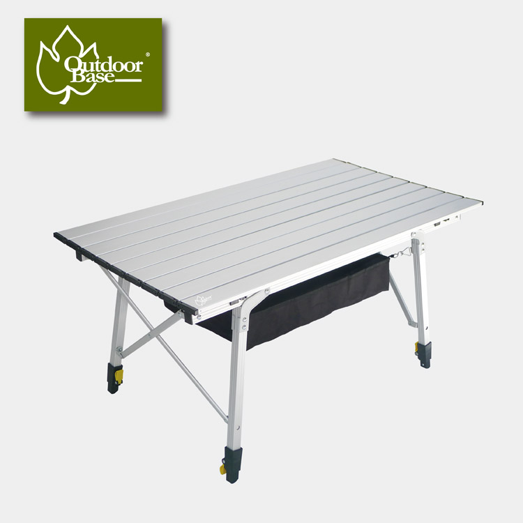 Outdoorbase  八爪魚鋁合金鋁捲桌(S).露營.
