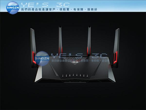 「YEs 3C」ASUS華碩 RT-AC88U電競專用雙頻無線AC3100分享器 4K到府收送