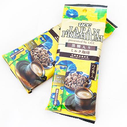 【敵富朗超巿】UCC JAPAN PREMIUM黑糖牛奶咖啡 28g
