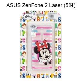 迪士尼透明軟殼 [條紋] 米妮 ZenFone 2 Laser ZE500KL Z00ED (5吋)【Disney正版授權】