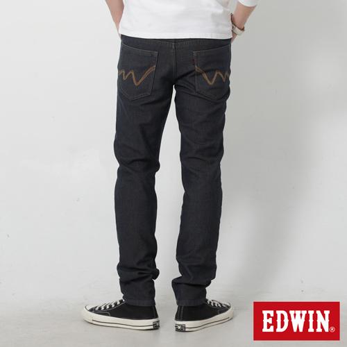 【9折優惠↘】【大尺碼】EDWIN JERSEYS 迦績內層格紋保溫AB褲-男款 原藍磨【單筆滿2000結帳輸入 NGNN-SXDL-3YZU-WCH0→現折200元】