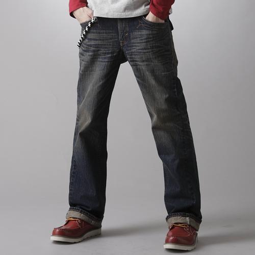 【SUPER SALE。熱銷丹寧888↘】EDWIN XV 袋蓋靴型牛仔褲-男款 中古藍【結帳輸入SS_20161207→現折100元】