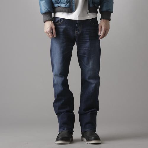 【1290元優惠↘】EDWIN 503 ZERO直筒褲-男款 拔洗藍
