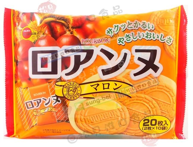 北日本栗子法蘭酥20枚142g【4901360317332】