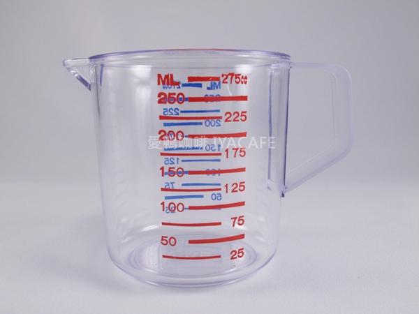 《愛鴨咖啡》PC 雙色 刻度 量杯 250c 吧檯專用