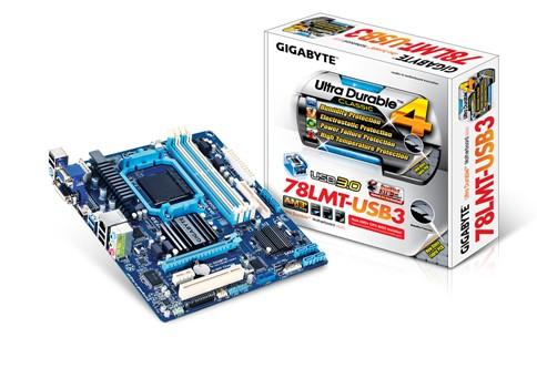 「YEs 3C」全新 GIGABYTE 技嘉 GA-78LMT-USB3 主機板 AMD 760G + SB710 晶片組 USB3.0 免運 yes3c 10ne