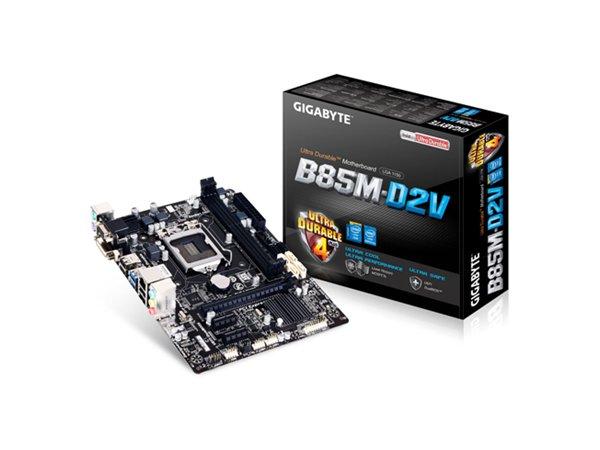 「YEs 3C」全新 GIGABYTE 技嘉 GA-B85M-D2V 主機板 Intel B85 晶片 1150 M-ATX 免運 yes3c 10ne